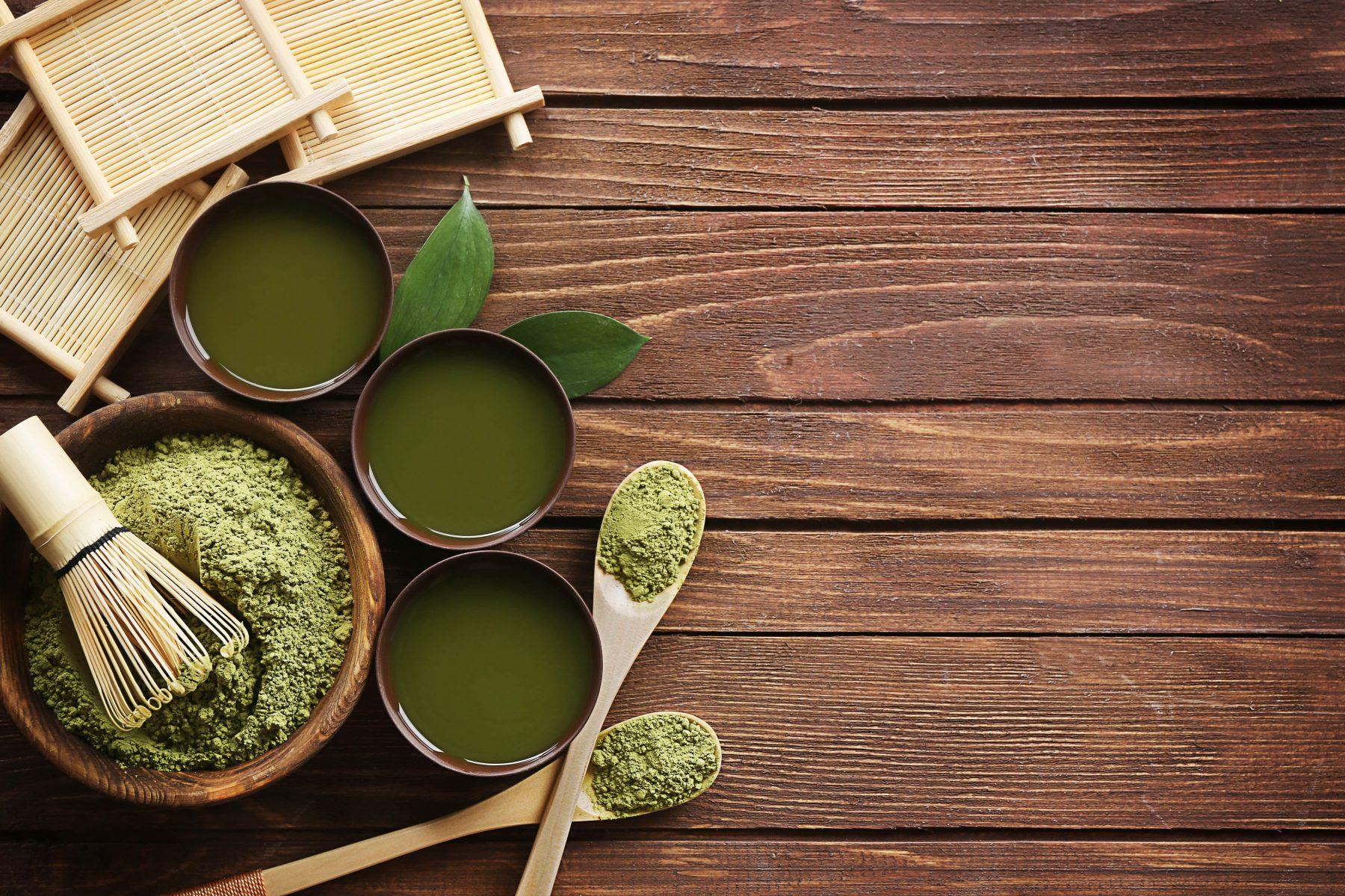 зеленият чай - антиоксидант
